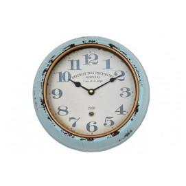 Часы HLC216739K голубые irongarden арабские цифры