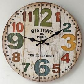 Часы настенные Bistrot Ø 35 см бежевые Clok