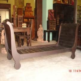 Софа 2 местная WOODEN SOFA IND. (акация, 174×73×93×38 cм) Ganesha коричневая