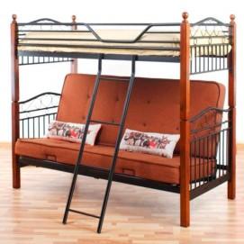 Кровать двухъярусная-диван DD Fun Futon (700/1400/900*190) Inder Metal