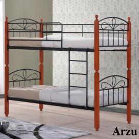 Кровать двхъярусная DD Arzu (90*190) Onder MEBLI