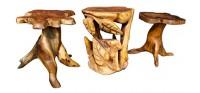 Мебель из тиковых корней