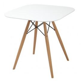 Стол обеденный Paris 130-XWD 80х80 см Primel белый