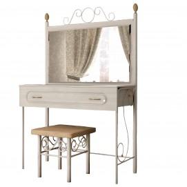 Туалетный столик белый Металл Дизайн