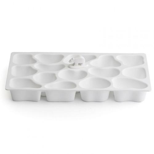 Форма для льда Polar Ice Tray Qualy Snow белая