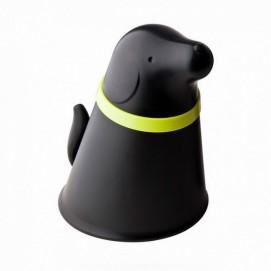 Контейнер и миска для собаки Pupp Qualy Чёрный
