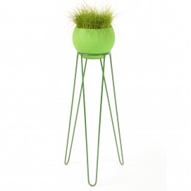 Подставка для цветов Flora High зеленая Hairpinlegs