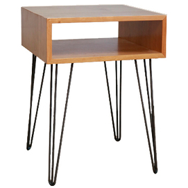 Тумба Night Stand 450 ДСП натуральная Hairpinlegs