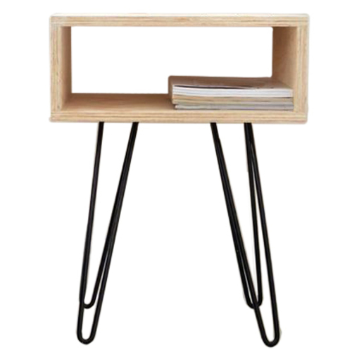 Тумба Night Stand 550 ДСП натуральная Hairpinlegs