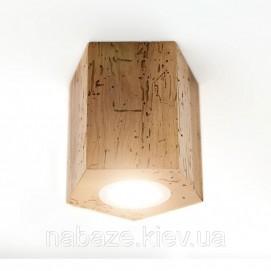 Светильник Hexon потолочный 3 Solovero 17х13х11,3 см