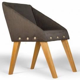 Кресло Uno синее 540x650x700 мм
