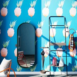 Дизайнерские обои Ananas  влагостойкие ширина 1.3м TheОбои