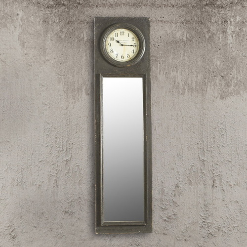 Зеркало  с часами Dialma Brown DB002453