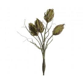 Искусственные растения цветок зеленый 2 C2218 belldeco