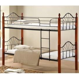 Кровать 2-х ярусная AT-9128C (90*200) Kordo