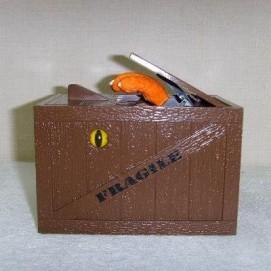 "Копилка ""Кот в коробке"" на батарейках OS-1192S"