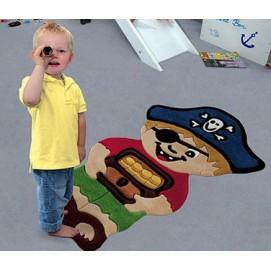 Ковер детский Joy 72*120 см пират  4056/53 joy