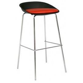 Барный стул ASTOR 27771 Evelek красно-черный
