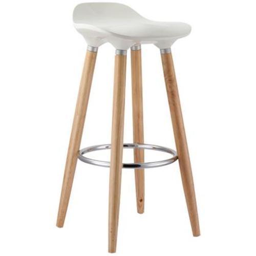 Барный стул ABBA 27902 Evelek белый