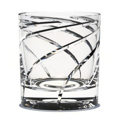 """Стакан-волчек для виски и воды """"Спираль""""ST10-002"""