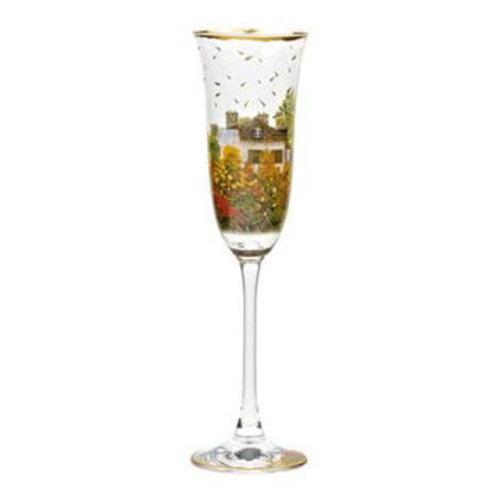 """Бокал для шампанского """"Дом художника"""" 6.5х6.5х24 см., объем: 0.22 л., стекло 66-926-20-5"""