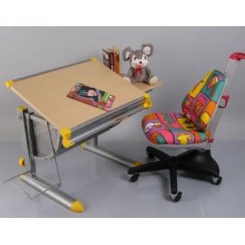 Детский стол BD-1122 white beech