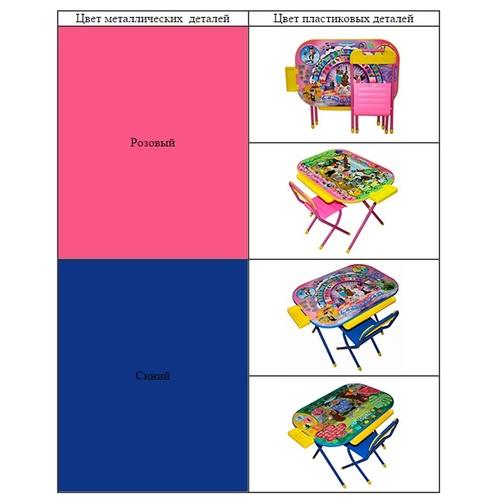 Набор  детской складной трансформируемой мебели №2р