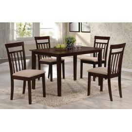 Столовый комплект Кортес (4+1) WH