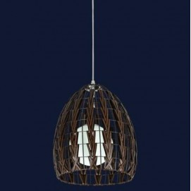 Лампа подвесная 7073194-1 коричневая Levada