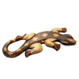 Гекон деревянный (30,5х11х1 см)(ARG019XS)