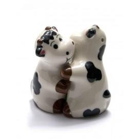 "Солонка с перечницей ""Коровы"" (8х8х5 см)(AB260)"