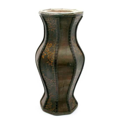 Ваза деревянная (30х12х12 см)(B2-814)