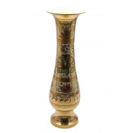 """Ваза бронзовая цветная (29х9х9 см)(Flower vase Glass Clr 12"""")"""