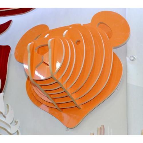 Голова Медведя оранжевая