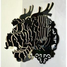 Голова Дракона черная
