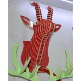Голова Антилопы красная