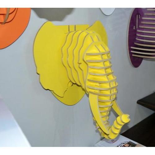 Голова Слона желтая
