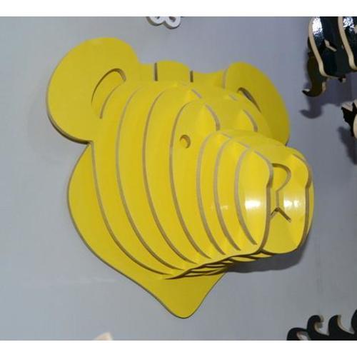 Голова Медведя желтая