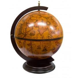 Глобус бар (41х56х56 см)(JG42002R) коричневый