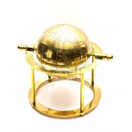 Глобус бронза (19х19,5х19,5 см)(BRASS DESKTOP GLOBE)