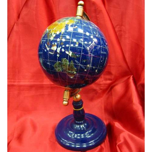 Глобус с камнями на ножке 150мм