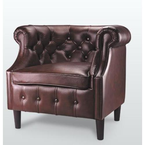 Кресло Челси-1 D'LineStyle коричневое