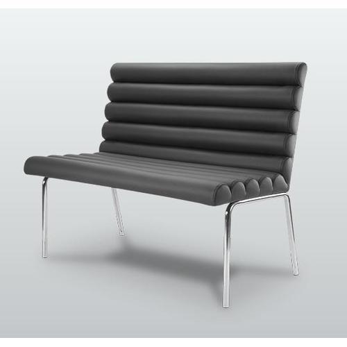 Скамья Плато-NS (нерж.сталь) D'LineStyle черная