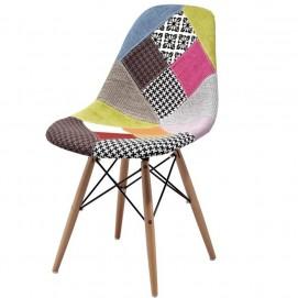 Стул Paris fabric 130-DCV1-D цветная ткань Primel ноги дерево
