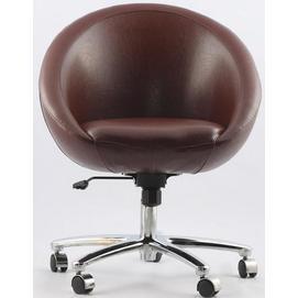 Кресло Office Sancafe (коричневое)