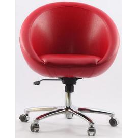 Кресло Office Sancafe (красное)