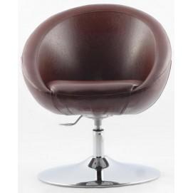Кресло Lux Sancafe (коричневое)