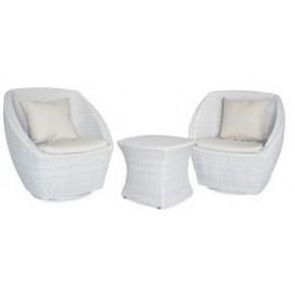 Комплект столик со стеклом и 2 кресла VH015