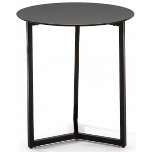 Стол кофейный MARAE Ø50 C351C01 (черный) Laforma