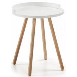 Стол приставной BRUK (белый) C595M05 Laforma